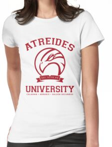 Atreides University | Red Womens Fitted T-Shirt
