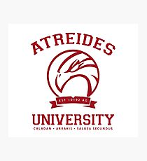 Atreides University | Red Photographic Print
