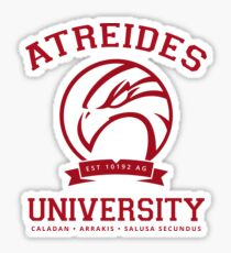 Atreides University | Red Sticker