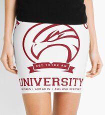 Atreides University | Red Mini Skirt