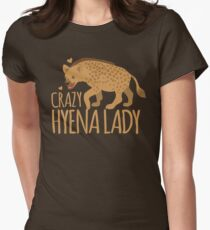 Crazy Hyena Lady T-Shirt