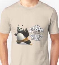 real warior never quits kungfu panda 3 Unisex T-Shirt