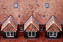 Swiss roof in Bern by Arie Koene