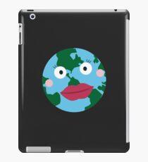 Kissing earth iPad Case/Skin