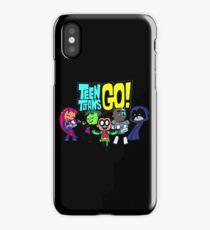 Chibi Titans Go!  iPhone Case/Skin