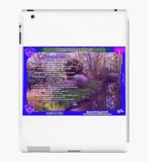 23RD PSALM iPad Case/Skin