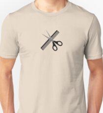 scissors & comb Unisex T-Shirt