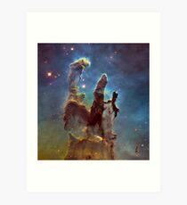 The Pillars of Creation Art Print