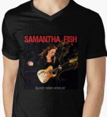 samantha fish Men's V-Neck T-Shirt