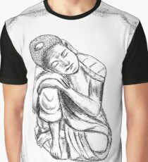 Buddha Dreaming Graphic T-Shirt