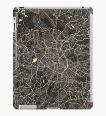 Birmingham map ink lines iPad Case/Skin