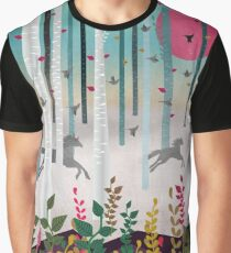 Flying Horses Graphic T-Shirt