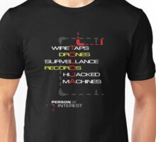 Person of Interest TOLDJA design (normal) Unisex T-Shirt