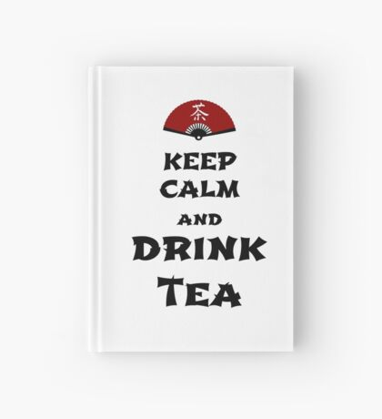 keep calm and drink tea Notizbuch
