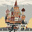 Saint Basil's Cathedral by Sam Brewster