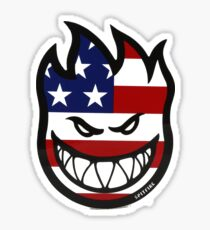 Spitfire USA Sticker