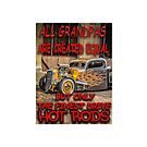 Finest Grandpas drive Hot Rods by thatstickerguy