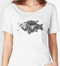 Prehistoric Fossil Fish Women's Relaxed Fit T-Shirt