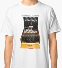 Secrets,  codes,  and the enigma machine  Classic T-Shirt