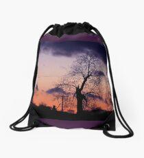 December sky Drawstring Bag