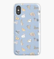Abundance of buns - blue iPhone Case/Skin