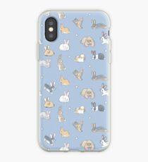 Abundance of buns - blue iPhone Case