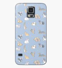 Fülle von Brötchen - blau Hülle & Klebefolie für Samsung Galaxy