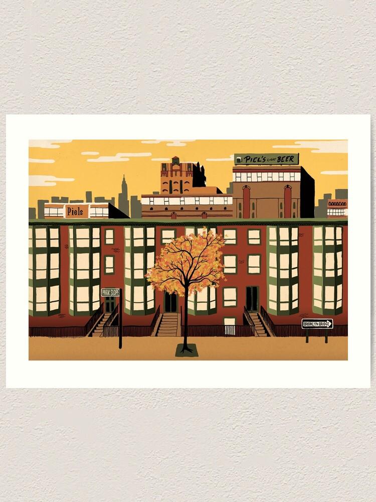 Alternate view of Brooklyn Art Print
