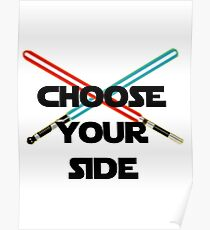 Choose A Side Poster