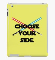 Choose A Side iPad Case/Skin