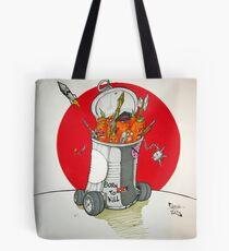 Carrot militia Tote Bag