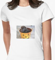 Cutest Chocolate Lab Puppy Women's Fitted T-Shirt