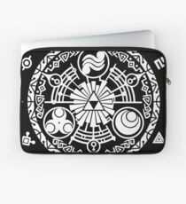 Zelda Time Portal Minimal Design Skyward Sword Black Version Laptop Sleeve