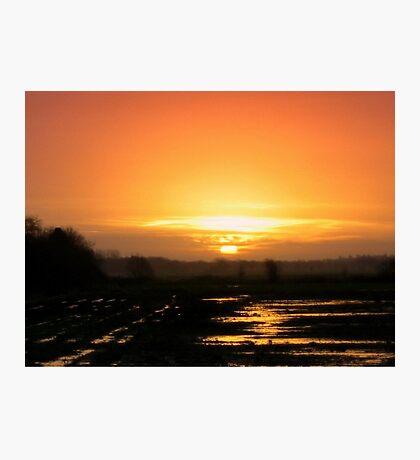 Sunrise -  When I woke up this morning Photographic Print