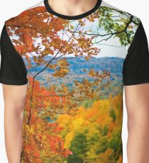 Colorful Fall Graphic T-Shirt