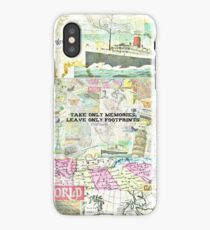 Travel Chief Seattle inspirational ecology quote iPhone Case/Skin