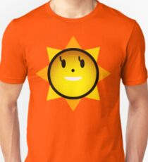 灼熱Beach Side Sunny Unisex T-Shirt