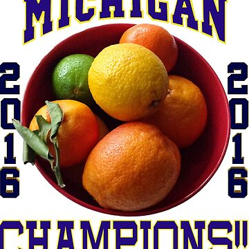 Wolverines! Bowl Champions Again! by Spacestuffplus