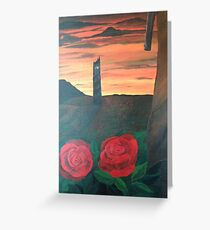Dark Tower Greeting Card