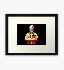 Eric Forman Fatso Burger Employee Framed Print