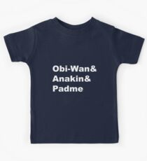 The Prequel Trio Kids Tee