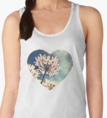 Queen Annes Lace flowers Women's Tank Top
