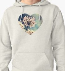 Queen Annes Lace flowers Pullover Hoodie
