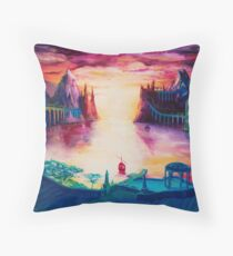 The Grey Havens Throw Pillow