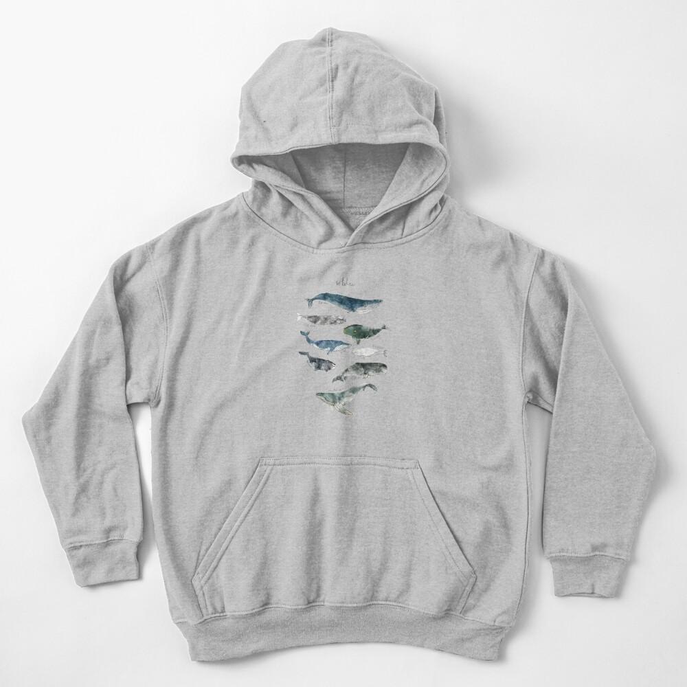 Whales Kids Pullover Hoodie