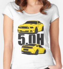 5.Oh Stang Fitted Scoop T-Shirt