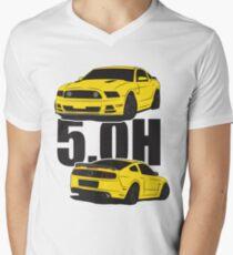 5.Oh Stang V-Neck T-Shirt