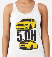 5.Oh Stang Racerback Tank Top