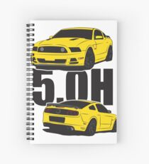 5.Oh Stang Spiral Notebook