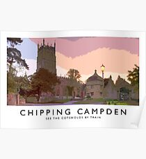 Chipping Campden (Railway Poster) Poster
